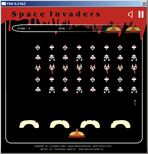 Space Invader PC